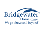 Bridgewater Home Care Logo BLUE ON WHITE